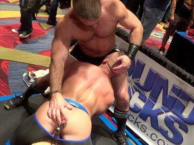 gay muscle porn clip: Dirk Caber & JR Bronson - Dirk Caber & JR Bronson, on hotmusclefucker.com