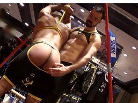 gay muscle porn clip: Dolan Wolf & Caesar Evans - Caesar Evan & Dolan Wolf, on hotmusclefucker.com