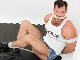 gay muscle porn clip: Aaron Cage - Aaron Cage, on hotmusclefucker.com